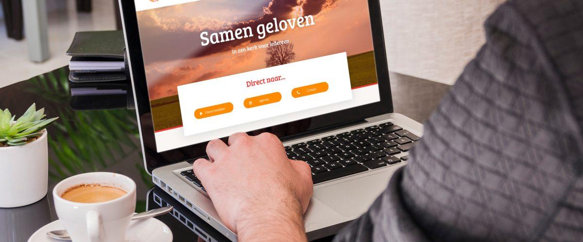 Mockup Website PKN Grijpskerk